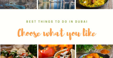 Best things to do in Dubai under your budget
