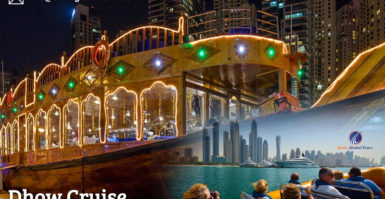Dhow Cruise In Dubai Marina And Other Fantastic Places To Spend The Evening