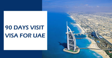 90 Days Visit Visa for UAE