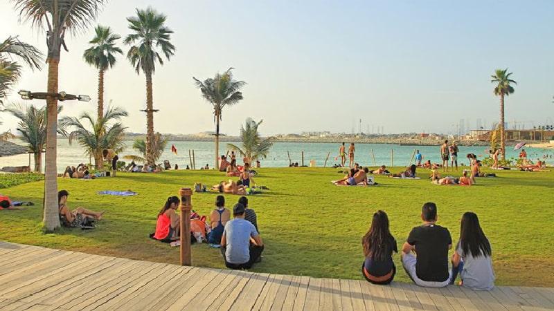 free parks in Dubai