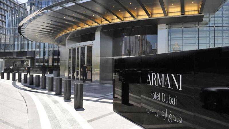 Armani Luxury Hotels at Dubai