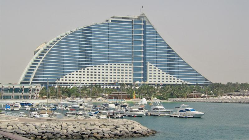 Jumeirah Beach Hotel In Dubai