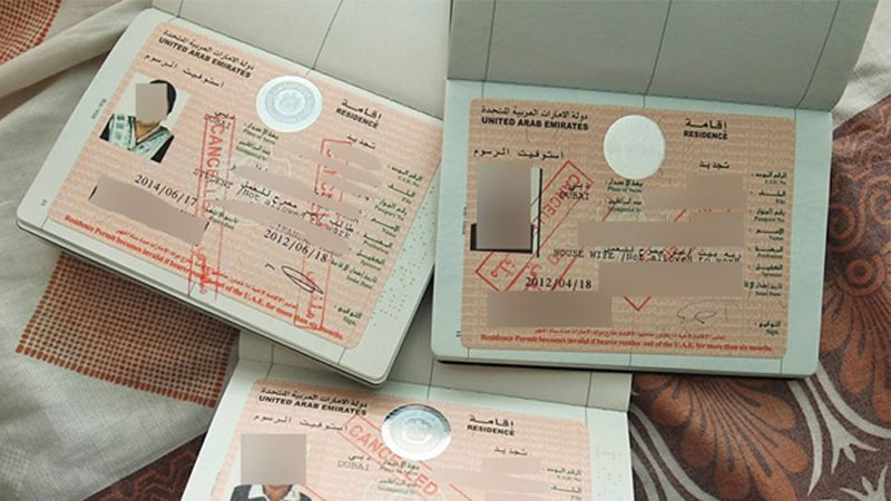 expired uae visa