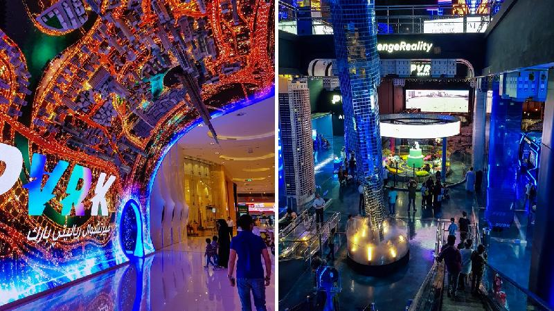 Visit VR Part At Dubai Mall