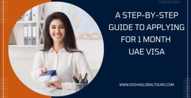 A Step-By-Step Guide To Applying For 1 month UAE Visa